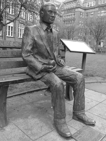 Alan Turing - photo (c) Allison Ursula Smith 2013